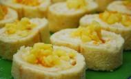 Ananaslı Rulo Pasta Tarifi