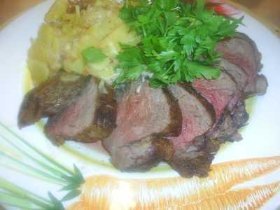 Baharatlı biftek