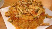 Bulgur pilavlı Tavuk Sote  Tarifi