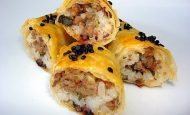 Kıymalı Pirinçli Börek Tarifi