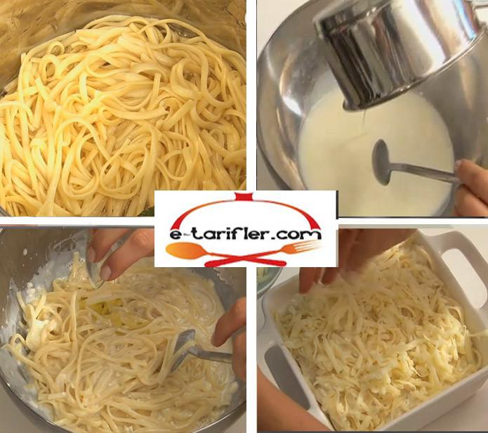 Fırında Peynirli Makarna Tarifi