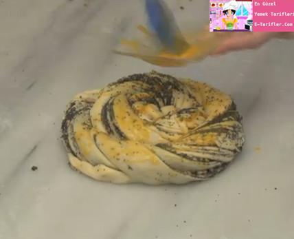Haşhaşlı Çörek Tarifi 8