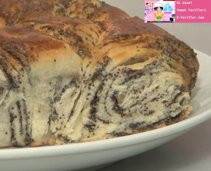 Haşhaşlı çörek tarifi 12