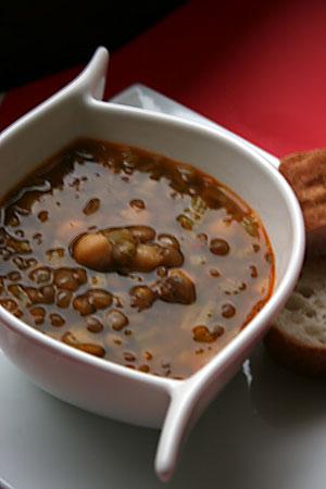 Ispanak Başı Mercimek Çorbası
