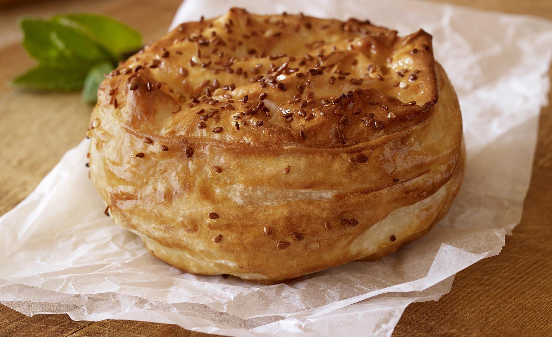 Ispanaklı Gül Böreği