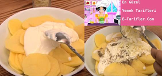 Kremalı patates tarifi 1