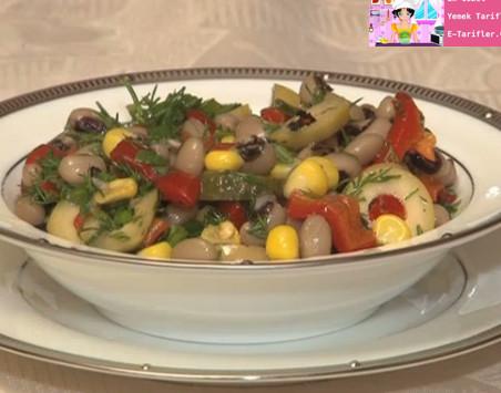 Etli Börülce Salatası Tarifi