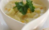 Patates Ve Mısırlı Çorba  Tarifi