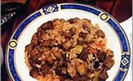 Zeytinyağlı Patlıcanlı Pilav Tarifi
