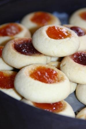 Kayısı reçelli kurabiye tarifi