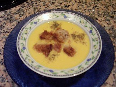 Balkabaği Çorbası