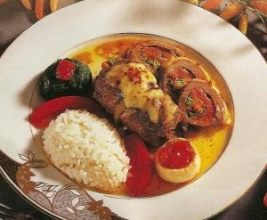 Biftek Sarması