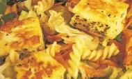Hellim Peynirli Makarna  Tarifi
