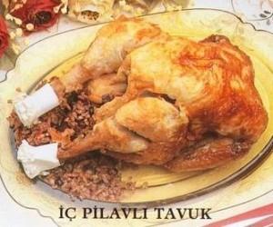 İç Pilavlı Tavuk Tarifi