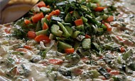 Mayonezli Tavuk Salatası Tarifi