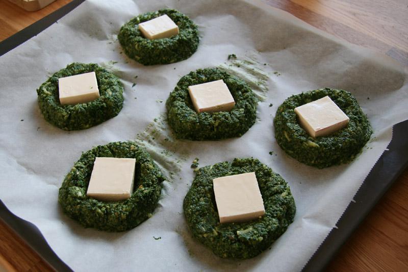 Ispanaklı Peynir Köftesi Tarifi