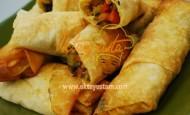 Sebzeli Sigara Böreği Tarifi