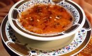 Kızılcıklı Tarhana Çorbası Tarifi