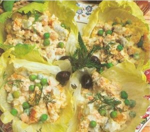 etimekli bezelye salatası tarifi etimekli bezelye salatası malzemeleri ve