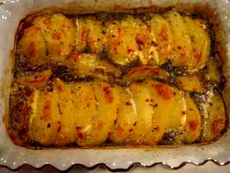 Sütlü Patates Firin