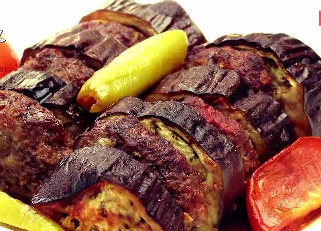 kebab 28 Patlıcan Kebabı (fırında) Tarifi