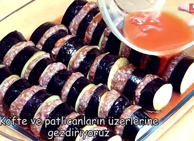 kebab12 Patlıcan Kebabı (fırında) Tarifi