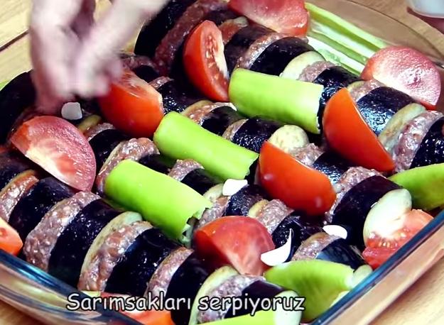 kebab23 Patlıcan Kebabı (fırında) Tarifi