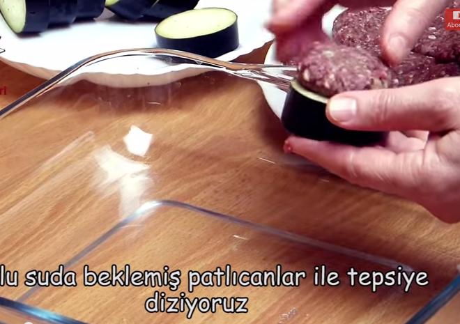 kebab9 Patlıcan Kebabı (fırında) Tarifi