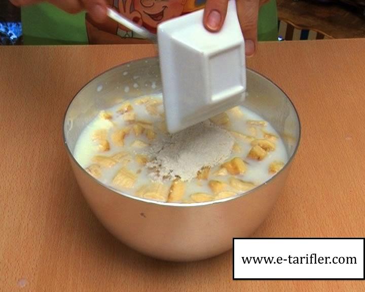 muzlu dondurma yapımı yapılışı