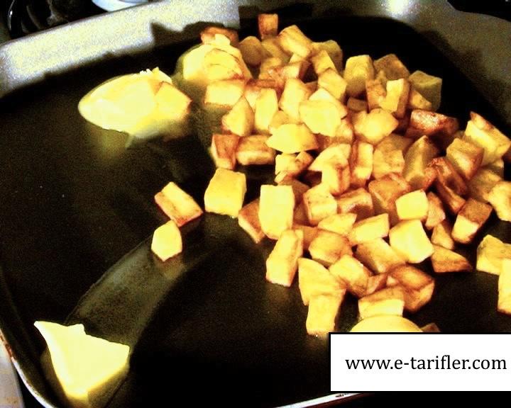Patatesli Omlet Tarifi 13