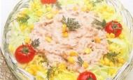 Tavuk Soslu Salata Tarifi