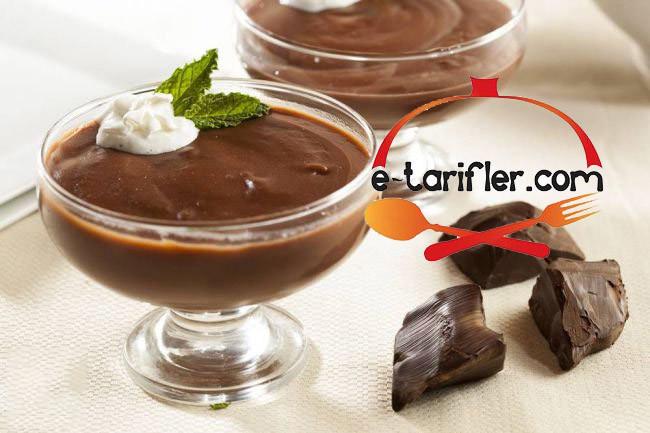 çikolatalı muhallebi tarifi resmi kopya