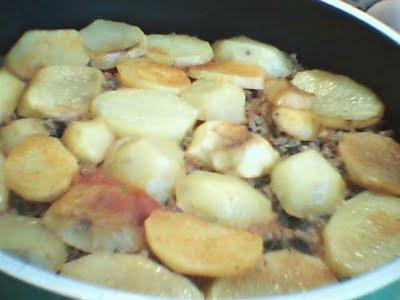 patates oturtma Patates Oturtma Tarifi