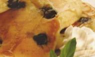 Yaban Mersinli Pancake Tarifi