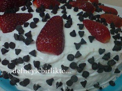 yaş pasta, kremalı pasta, kremalı yaş pasta