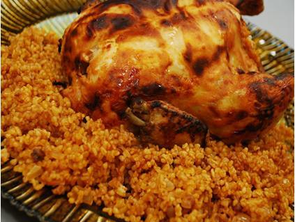 Tavuk Dolması Tarifi 1