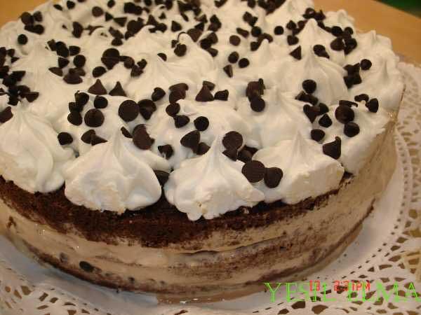 Dondurmalı Pasta
