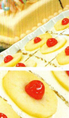 elma dilimli tatlı tarifi resmi fotosu