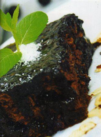 kahveli zencefilli kek