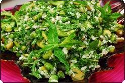 Bakla Salatası, Bakla Salatası Fotosu resmi