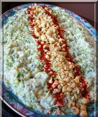 Kabak Salatası, Kabak Salatası Fotosu resmi
