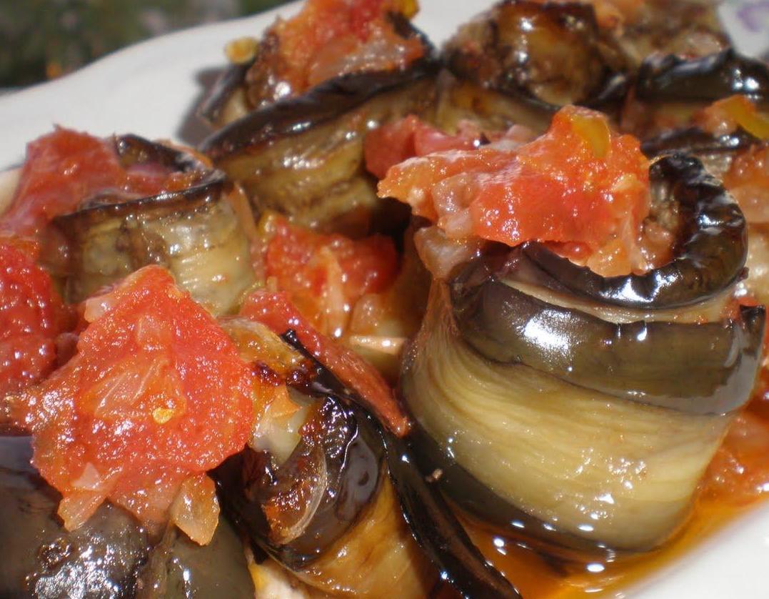 Zeytinyağlı Patlıcan, Zeytinyağlı Patlıcan Fotosu resmi
