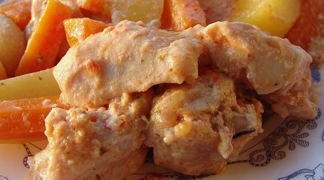 Kremalı Tavuk, Kremalı Tavuk fotosu resmi