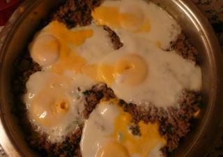 Kıymalı Yumurta, Kıymalı Yumurta fotosu resmi