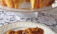 Karamel Soslu Elmalı Kek Tarifi