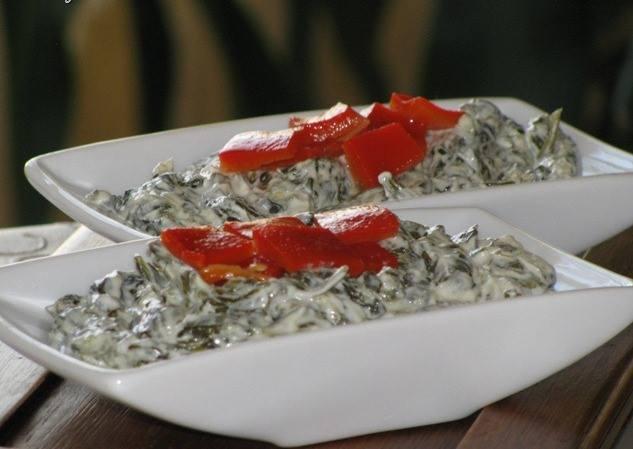 ıspanak salatası