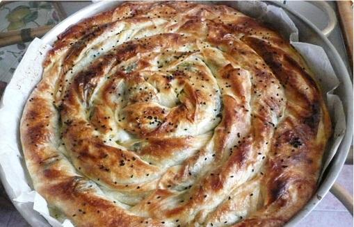 Ispanaklı-Peynirli-Tava-Böreği