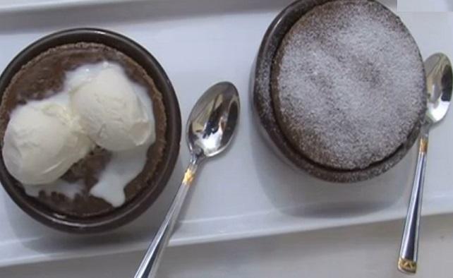 Çikolatalı sufle yapım 16