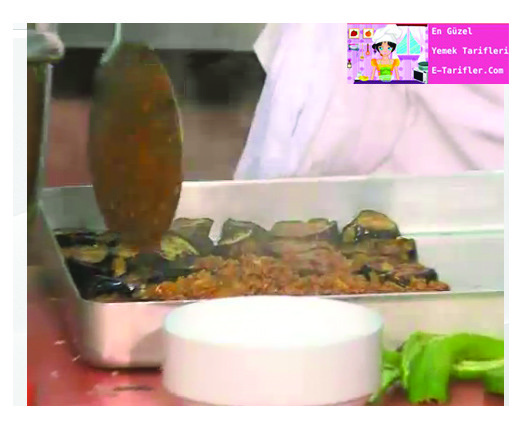 Patlıcanlı Musakka Tarifi 4