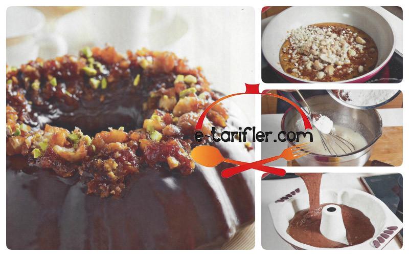 Çikolatalı Yılbaşı Pastası Tarifi